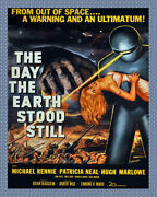 8584.decoration Movie Poster.home Room Wall Art Design.the Day Earth Stood Still
