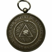 [559976] France Medal Masonic Grand Orient De France Cours Commerciaux Du