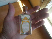 Larkin Co Buffalo Emb And Label Rose Water And Glycerin For Skin Hand Blown Bottle