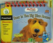 Leap Frog My First Leap Pad Bear In The Big Blue House Tutters Tiny Trip New