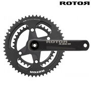 Rotor Aldhu Cranksets - 30mm Axle And Chainring Sets