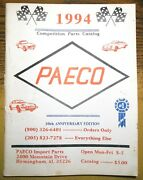Paeco Competions Parts Catalog Performance Imports 30th Anniversary 1994