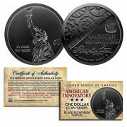 American Innovation State 1 Dollar Coin Series 2018 1st Release Black Ruthenium
