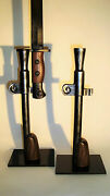Support Display Stand For Lee-enfield No. 5 Mk. I Jungle Carbine Bayo.