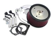 Zipper's Highflow Air Cleaner 2008-2013 Touring With Stock Throttle Body