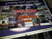 Special Edition Fox Cities Wisconsin Timber Rattlers Baseball Monopoly Game 2003