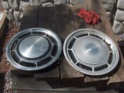 Ford Lincoln Mercury 79 To 83 Fairmount Wheel Covers Hubcaps 2 Hub Caps 14