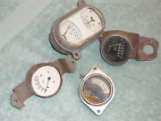 1920s-31 Packard/pierce/cadillac/chrysler/stude/buick Etc. Misc Gages.  4..