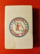 Vintage 1981's Missouri National Guard Playing Cards Deck