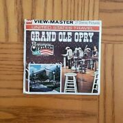 H83 Grand Ole Opry Nashville Tennessee Home Of Country Viewmaster Reels Packet