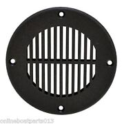 Boat Plastic Large Floor Drain Vent Cover Covers 4 Inch Hole Th Marine Fd-4