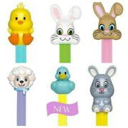 Lot Of 6 2019 Easter Pez Dispensers With New Seasonal Vanilla Flavor
