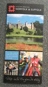 English Heritage Norfolk And Suffolk Promotional Flyer - Part Of Step Into England