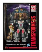 Sdcc 2018 Hasbro Exclusive Transformers Throne Of The Primes, On Hand