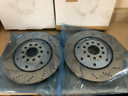 Audi Rs6 Oem 4 Brake Rotor Kit Front And Rear Free Pads Oem Germany Sale
