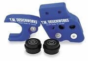 T.m Design Works Atv Chain Slide-n-guide Kit For Aftermarket Arms Ycp-45k-bu