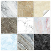 Marble Tile Stickers Transfers - 9 Colours - Bathroom Kitchen - Mm1