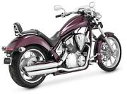Vance And Hines Twin Slash Staggered 18421