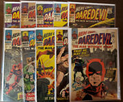 Daredevil Lot Of 10 Issues 9 12 14 19 20 21 22 23 24 25 - Gd+ To Fn+