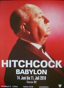 Alfred Hitchcock Festival German A1 Movie Poster 2018 Nm