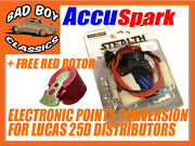 Accuspark Electronic Ignition Conversion Kit Fits Ford Consul 1956-63 Lucas 25d