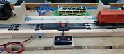 Full O Gauge 375+ Sold Lionel Trains Deluxe Test Stand 3'6 Ucs Track Engines
