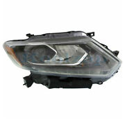 For 14 15 16 Rogue Front Headlight Headlamp Head Light Lamp W/led Drl Right Side