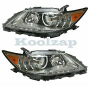 For 13-15 Es300h/es350 Front Headlight Headlamp Projector Head Light Set Pair