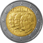 Luxembourg Commemorative Coin Special Coins 2011 St Jean De Luxembourg Loose
