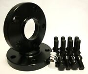 2 X 10mm Wheel Spacers Black 72.6-65.1 + Bolts And Locking Fit For Vw Multivan