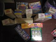 12 Sets Of Collectible Sports Baseball Cards, Complete Except 1 - 1985 - 1992