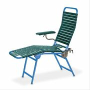 Folding Portable Donor Chair Royal Blue Frame,deepwaterblue 1 Ea