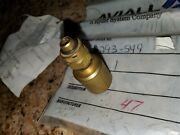 Qty 1 - New Marvel Schebler Ma-6 / Ma-6aa Bellows Assembly Pn 293-549 Stinson