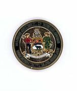 50th Anniversary Delaware Commission Of Veterans Affairs Challenge Coin