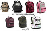 Nwt Victorias Secret Pink Campus Backpack Camo Bling You Pick