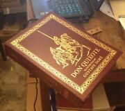 Don Quixote Easton Press 2004 Leather Illustrated By Dore Free Us Shipping Rare