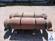 Heavy Duty Pipe Rollers W/ Pillow Block Bearings 20 O.d. Rollers X 3/8 Thick
