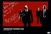 Gangster Number One Malcolm Mcdowell Signed 12x18 Poster Photo Acoa Witness Itp