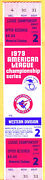 Rare Full Ticket 1979 Alcs Game 2-angels/orioles