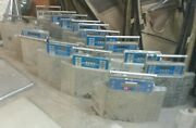 Lot Of 15 Non-working Intercomp Wheel Load Weighers Heavy Duty Parts Only