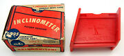 Vintage American Ladder Corp Inclinometer Ladder Safety Tool In Box