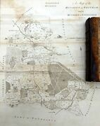 Kent 1797 - Original Antique Map Of Hundreds Of Wrotham And Littlefield - Hasted.
