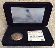 Mickey Mantle Highland Mint Motion Card And Coin 261/500 Set Ltd. Ed. /500