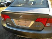 Trunk Lid Hatch Tailgate Sedan With Keyhole Gray 4dr Fit 06-07 09-11 Civic 34116