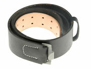 Size L Wwii German Wh Equipment Heer Service Belt Leather With Buckle Repro