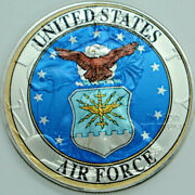 Us Air Force - American Silver Eagle .999 Silver Dollar Usaf Coin - New