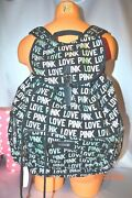 Victorias Secret Pink Love Pink Iridescent Full Size Back Pack Backpack Nwt