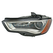 15-16 A3/s3 Front Headlight Headlamp Hid/xenon Head Light Lamp W/drl Driver Side
