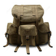 Wwii Ww2 Us Soldier M1961 Haversack Field Backpack Canvas Classical Repro