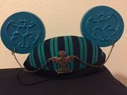 Disney Haunted Mansion Bat Stanchion Ghosts Mickey Mouse Ears Ear Hat